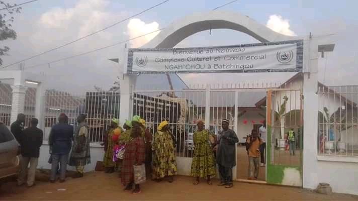 Inauguration du centre culturel et commercial Nga'achou